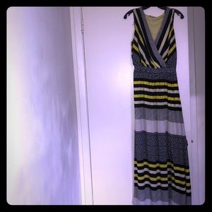 Multi stripped maxi dress